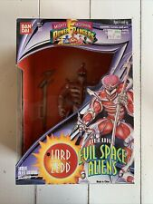 Bandai LORD ZEDD Mighty Morphin Power Rangers Deluxe Evil Space Aliens 1994