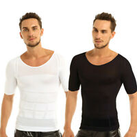 Men's Sport Apparel Skin Shirt Compression Base Under Layer Workout T-Shirt Tee