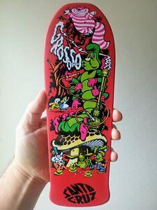 Santa Cruz Jeff Grosso Alice Display Handboard / Skateboard Deadkings