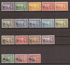 ST HELENA 1938-49 SG 131/40, 149/51 USED Cat £69
