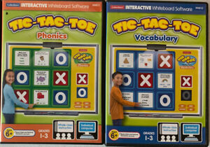 Lakeshore Learning Interactive Whiteboard Software TIC-TAC-TOE Lot!