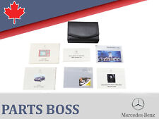 Mercedes-Benz S-Class 2000 OEM Owners Manual Set w/Case