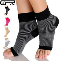 Ankle Support Brace Elastic Compression Wrap Sleeve Sports Relief Pain Foot