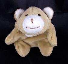 GUND Snuffles Snuffy Mini Tan Brown White Bear Beanbag Plush Stuffed Animal Toy