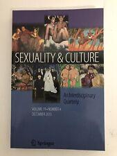 Sexuality & Culture - An Interdisciplinary Quarterly - Vol 19 - No 4 - Dec 2015