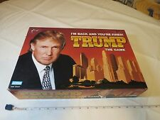 President Donald Trump board game I'M Back You're Fired RARE Money T Bills USA