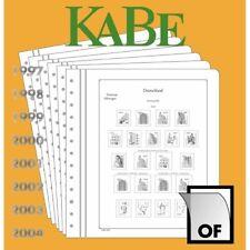 KABE Bund 2000-04 Vordrucke neuwertig (Ka762 k
