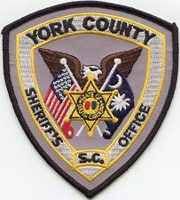 YORK COUNTY SOUTH CAROLINA SC SHERIFF POLICE PATCH