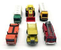 Vintage Matchbox Lot of 6 Assorted Trucks 1970-80s England China