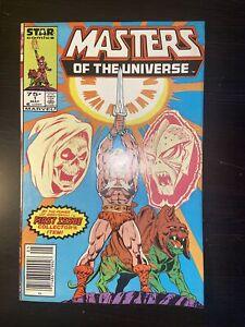 Masters Of The Universe #1 He Man Marvel Newsstand (1986) VF/NM 9.0 Skelator