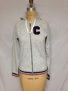 Champion Heritage Fleece Zip Hoodie, Block C Oxford Grey W9536H  XS, 1X 3X NWT