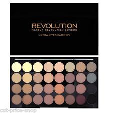 MAKEUP REVOLUTION 32 All Matte Shadows Eyeshadow Palette Flawless MATTES