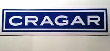 Cragar sticker decal hot rod rat rod lowrider vintage look car truck bike