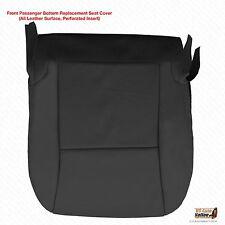 2010 2011 Lexus RX 350 RX 450 Passenger Bottom Leather Seat Cover Color Black