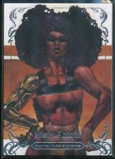 2018 Marvel Masterpieces Trading Card #4 Misty Knight /1999