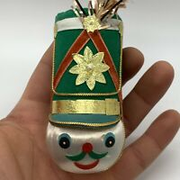 Vintage Handmade Nutcracker Head Christmas Ornament Decoration