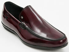 New Roberto Serpentini Burgundy Patent Leather Made in Italy shoes Size 43 US 10