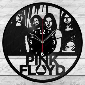 Vinyl Clock Pink Floyd Vinyl Record Wall Clock Home Art Decor Handmade 5742