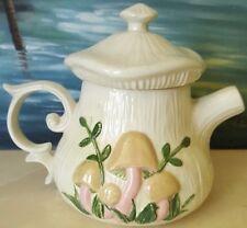 Vintage Retro Mid Century 1970s Arnels Mushroom Tea Pot Pitcher