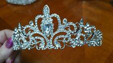 3 x Bridal/Prom/Pageant/Wedding/Christmas Rhinestone Crystal Crown/Tiara