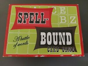 Spell Bound Card Game