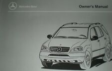 AUTOMOTIVE 1989 89 OWNERS MANUAL MERCEDES BENZ ML320 ML 320 163 USA