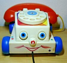 Fisher Price Kids Chatter Pretend Play Telephone 6 1/2""