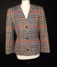 Vintage MISSONI multicoloured jacket in wool size 12 14