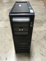 HP Z600 workstation Xeon 2X X5570 2.93GHz 8cores 24GB Ram 2TB FX1800 DVDRW WIN10