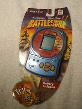 NEW sealed electronic battleship handheld game 2002 MB Milton Bradley