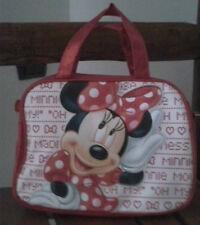 OCCASIONE! borsa ragazza DISNEY MINNIE nuova IDEA REGALO col rosso brillantinata