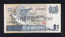 1976 SINGAPORE BIRD $1.00 HSS W/SEAL F/3 942815 P-9