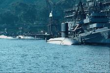 795029 Three Nuclear Powered Attack Boats Ballast Point Sub Base San Diego USA A