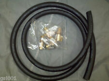 "Geothermal heat pump 1"" hose kit  includes temperature ports hydronic pressure"