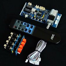 Remote Control Volume Audio source signals Potentiometer Preamp Board DIY kits