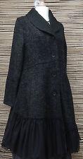 Pflaster * KEKOO * unglaublich schönen 2 Taschen Jacke/Mantel * anthrazit * Größe 38-40