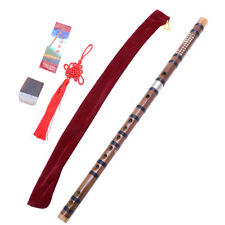Chinese Traditional Handmade Musical Instrument Bamboo Flute/dizi in G Pluggable