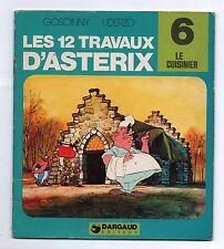 Collection Les 12 travaux d'Astérix n°6. Le cuisinier. Dargaud 1976.