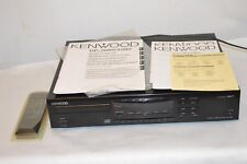Kenwood dp-1080 CD Joueur Noir Vintage BA bon état/t6