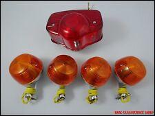Honda CB100 CL100 CB125S CB125 S90 CL90 CS90 Taillight Turn Signal ( Metal ) set