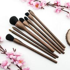BEILI Makeup Brushes Natural Hair Walnut Wood Foundation Powder Eyeshadow Brush