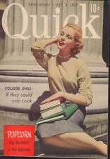 Quick News Weekly September 8 1952 Marilyn Monroe Cheesecake Pin Up 091318AME