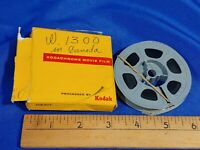 1964 8mm Film Movie Kodachrome Mining Construction Canada Crane to Indiana VTG