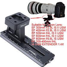 Trépied Anneau Bague Base + Plateau Rapide pour Canon EF 400mm f/2.8L IS II USM