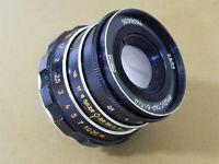 INDUSTAR-61 L/D 2.8/55 mm made in USSR Leica lens M39 Zorki FED RF 1992 release!