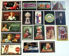 COCA COLA COLLECTION ~ Lot of 1994-99 Trading Cards, Various Sets