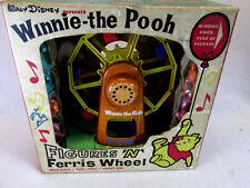 Vintage 1964 J. Chein Co Disney Winnie the Pooh wind up musical ferris wheel toy