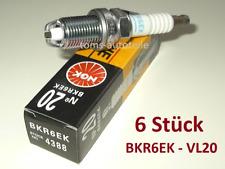 6 Original NGK Zündkerzen V-Line 20 BKR6EK 4388 BMW 3 E36 5 E34 E39 7 E38 Z3