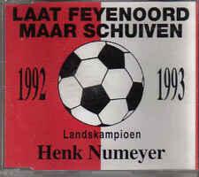 Henk Numeyer-Laat Feyenoord Maar Schuiven cd maxi single
