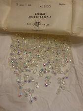 lot 20 perles ancienne disque en  cristal de SWAROVSKI AB art 5100  5 mm 4€